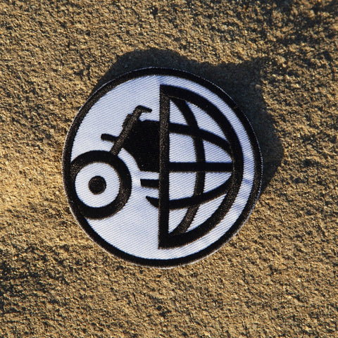 MotoGeo Globe/Bike Patch