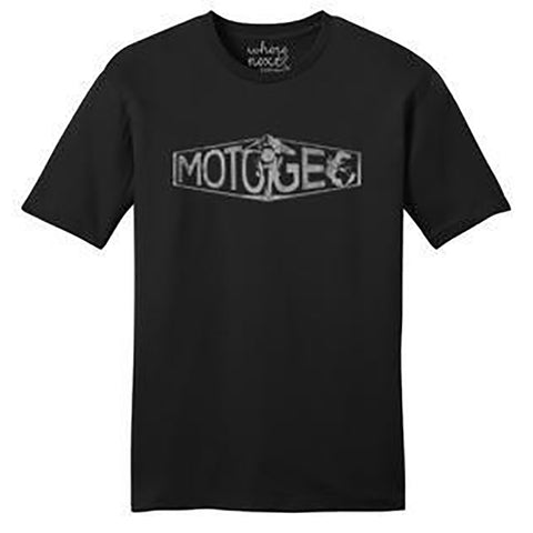 MotoGeo Men's Logo Shirt in Black