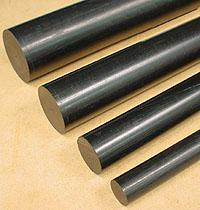 ABS ROD - BLACK -    3/4