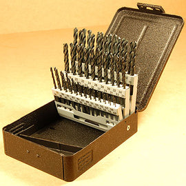 DRILL SET - WIRE GAUGE #1-60 WITH INDEXED CASE