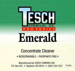 STEP 1 - TESCH EMERALD DEGREASER