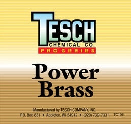 STEP 2 - TESCH POWER BRASS CLEANER