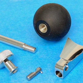 FLOOR PEG ASSEMBLY W/ BALL STOP