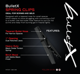 Single Pack of BulletX Clips (40 Clips) Use Our Clips Around The Home