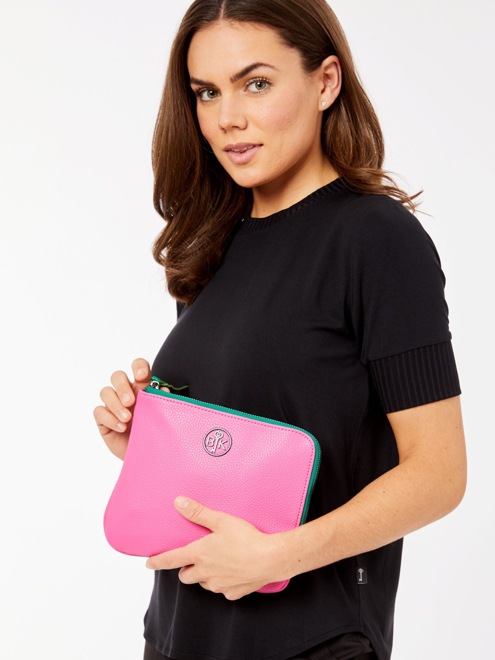 Keystone Pouch Hot pink
