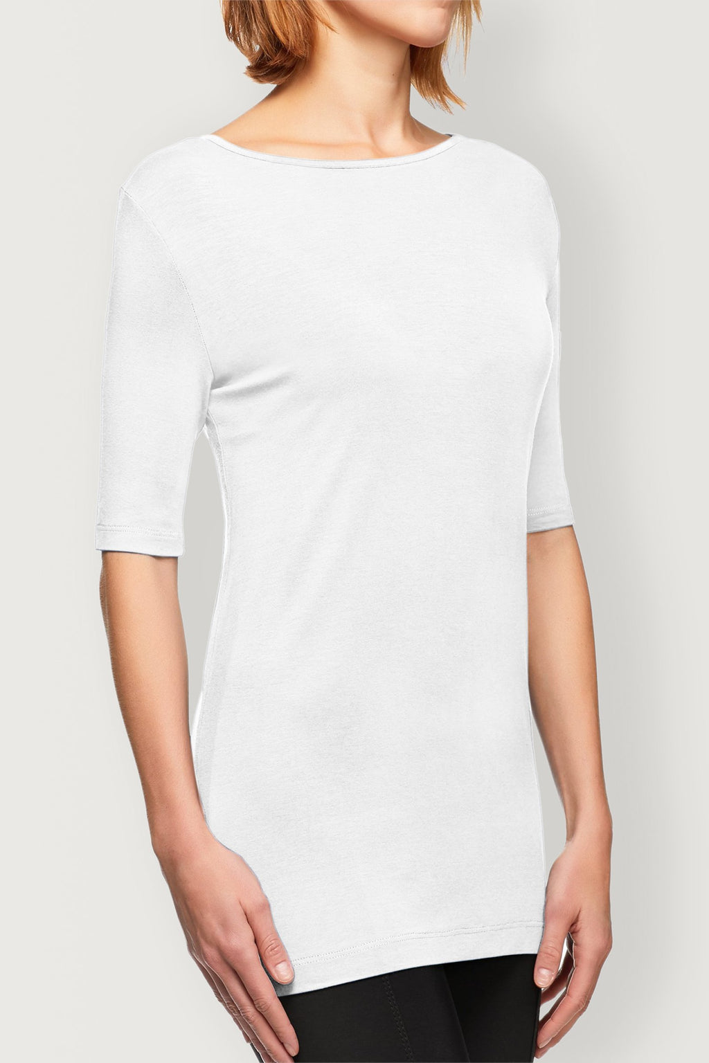 Alex Pocket Sleeve Tee- White