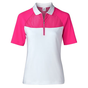 Domia Hot Pink Polo Shirt