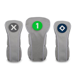 Head Covers- Grey, Green, & Navy