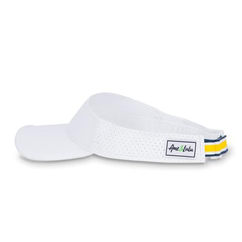 Performance Visor- Yellow & Navy