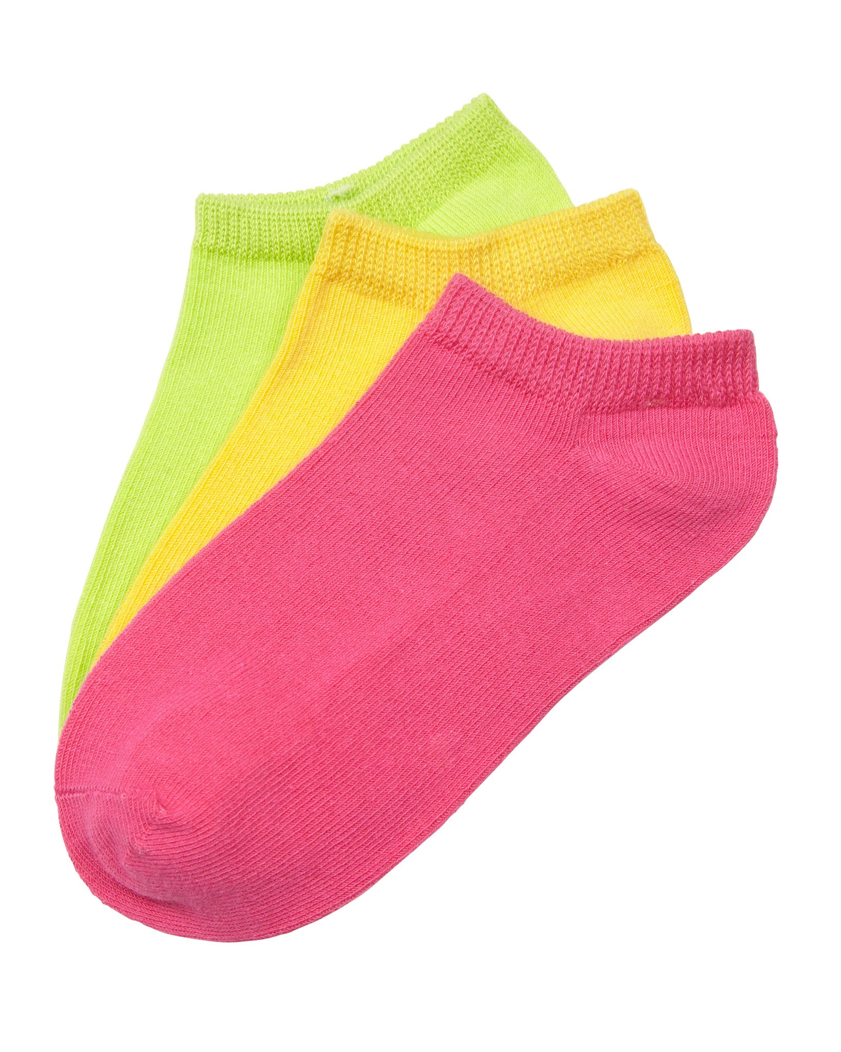 3-Pack No Show Sport Liner with Comfortoe Technology Socks