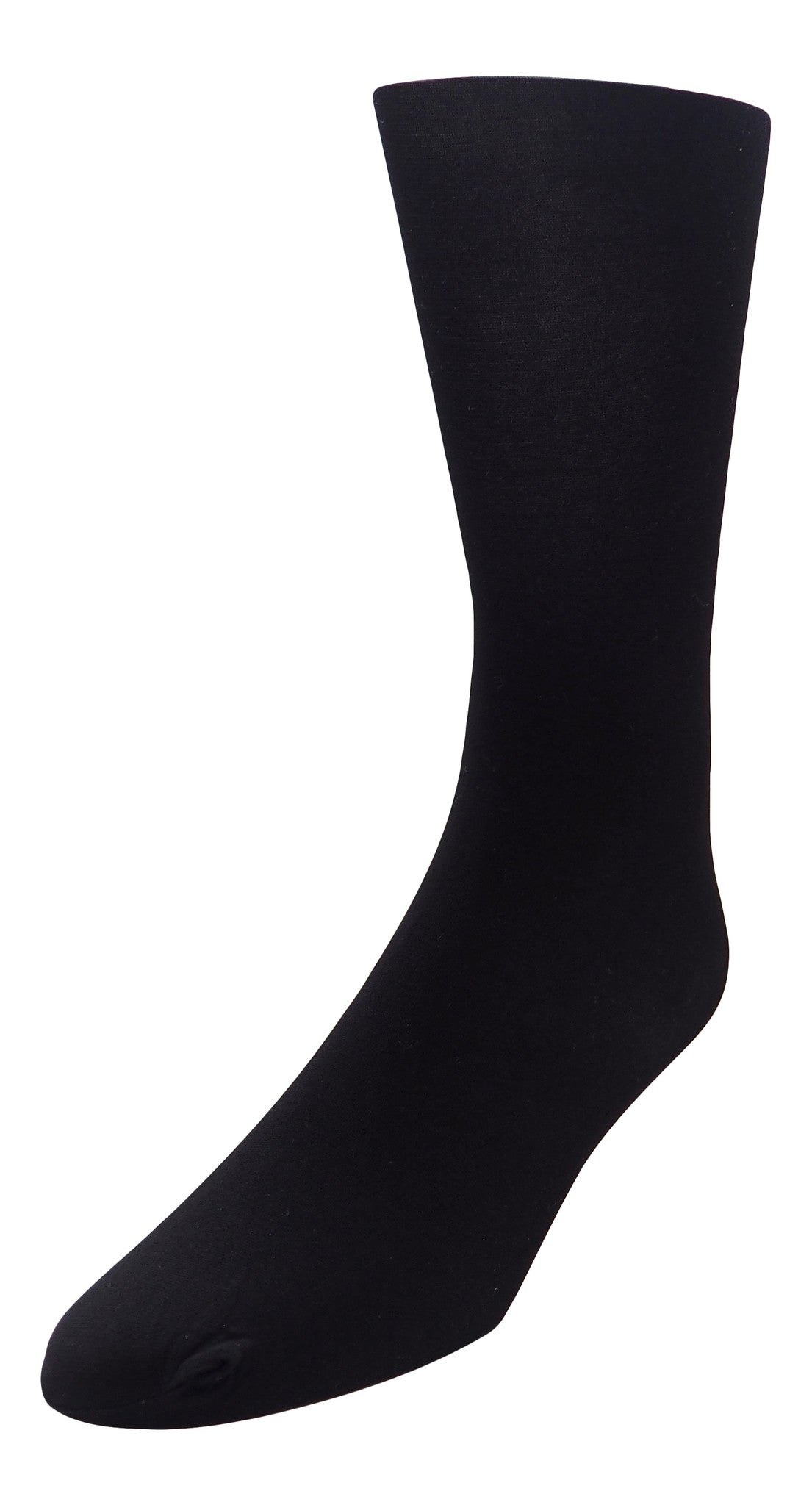 4-Pack Nylon Spandex Opaque Tights (Black)