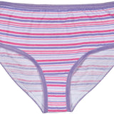Trimfit Girls 100% Cotton Colorful Briefs Panties (Pack of 10), Assorted 1