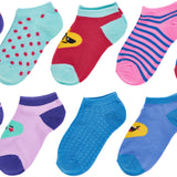 Trimfit Girls 10 Pack Lowcut Socks, Heart Emoji