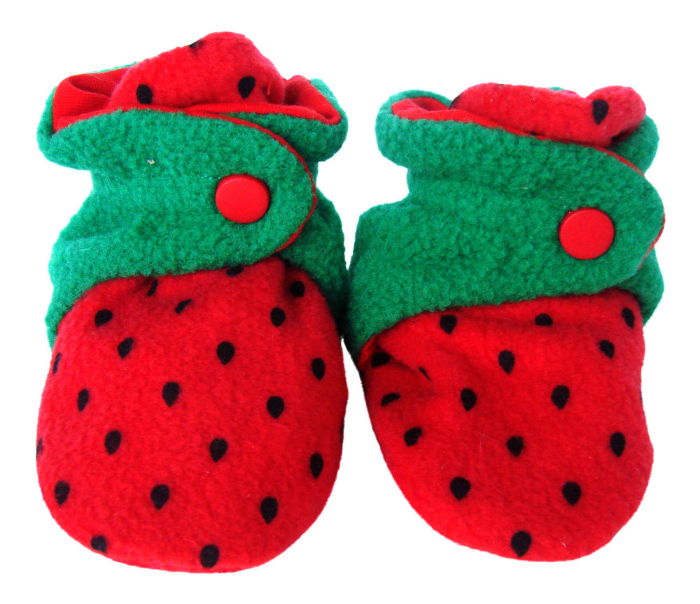 Infant Strawberry Baby Booties