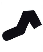 3-Pack Flat Knit Knee High Socks with Comfortoe Technology Socks (Black)