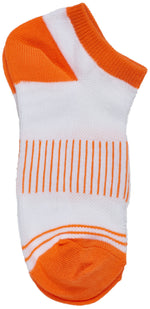 6-Pack Girls Sport Low Cut Socks, Low Cut Mesh Top