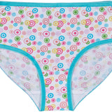 Trimfit Girls 100% Cotton Colorful Briefs Panties (Pack of 10), Assorted 2
