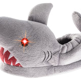 Boys Light-Up Eyes Shark Plush Slipper