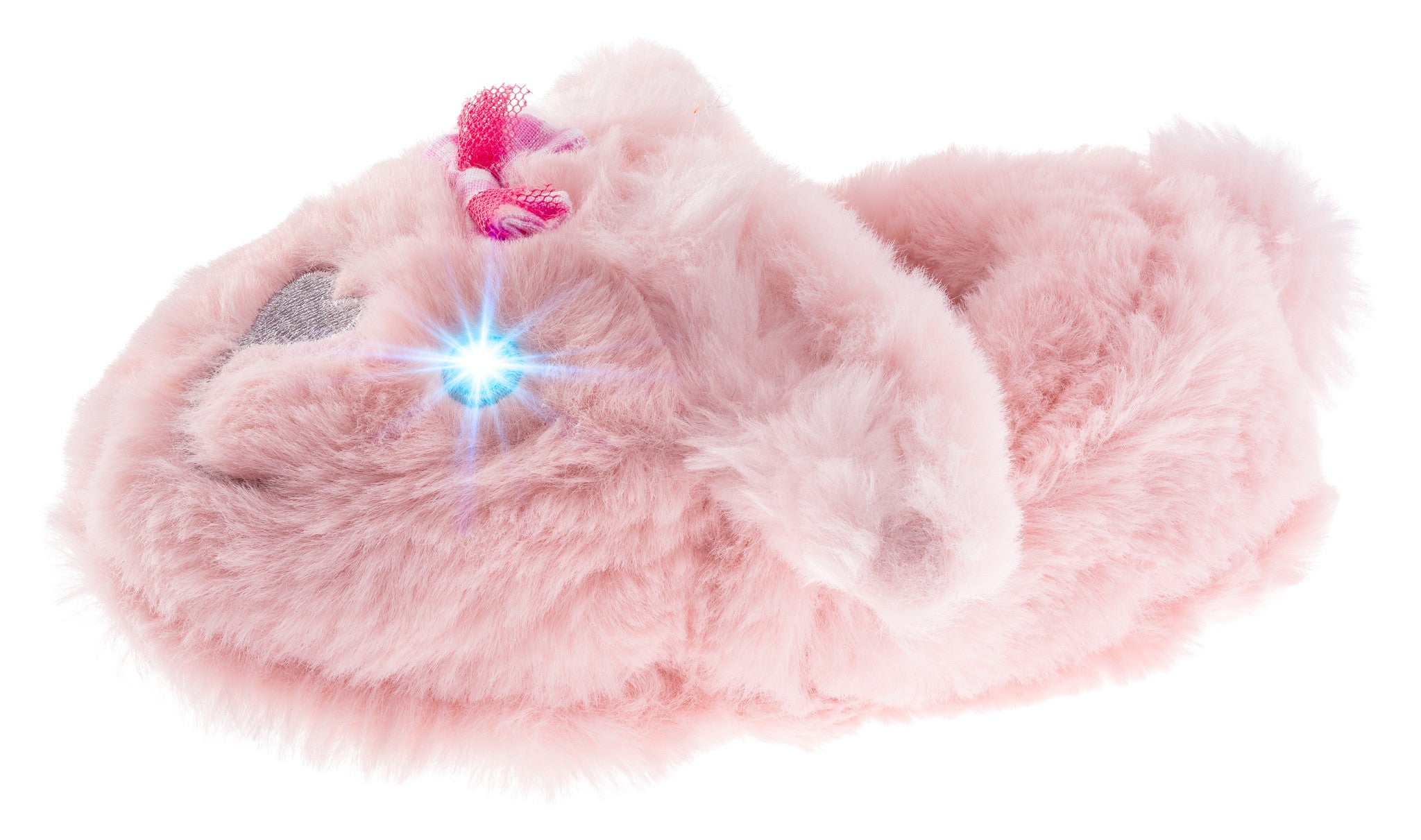 Girls Light-up Eyes Bunny Slippers