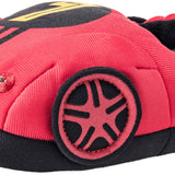 Boys 3D Light-Up Race Car Plush Slippers