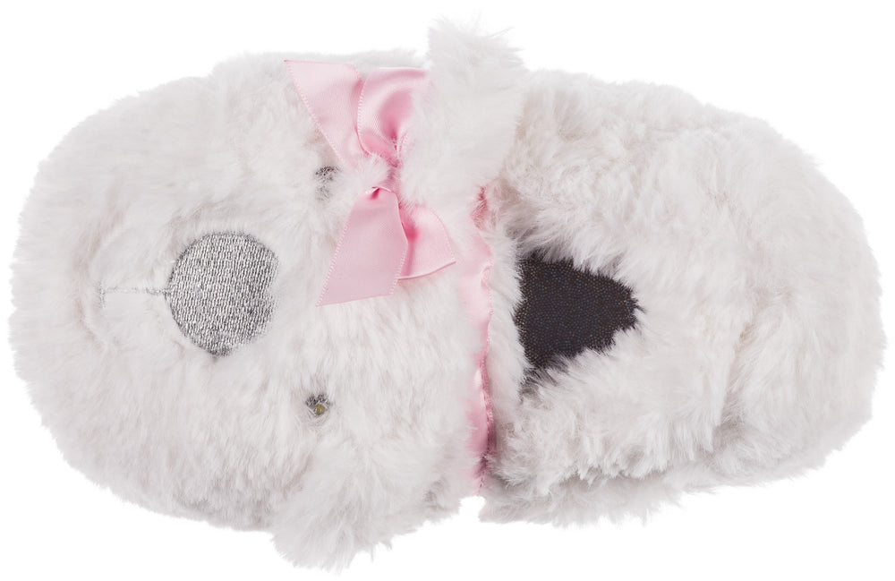 Girls Polar Bear Slippers