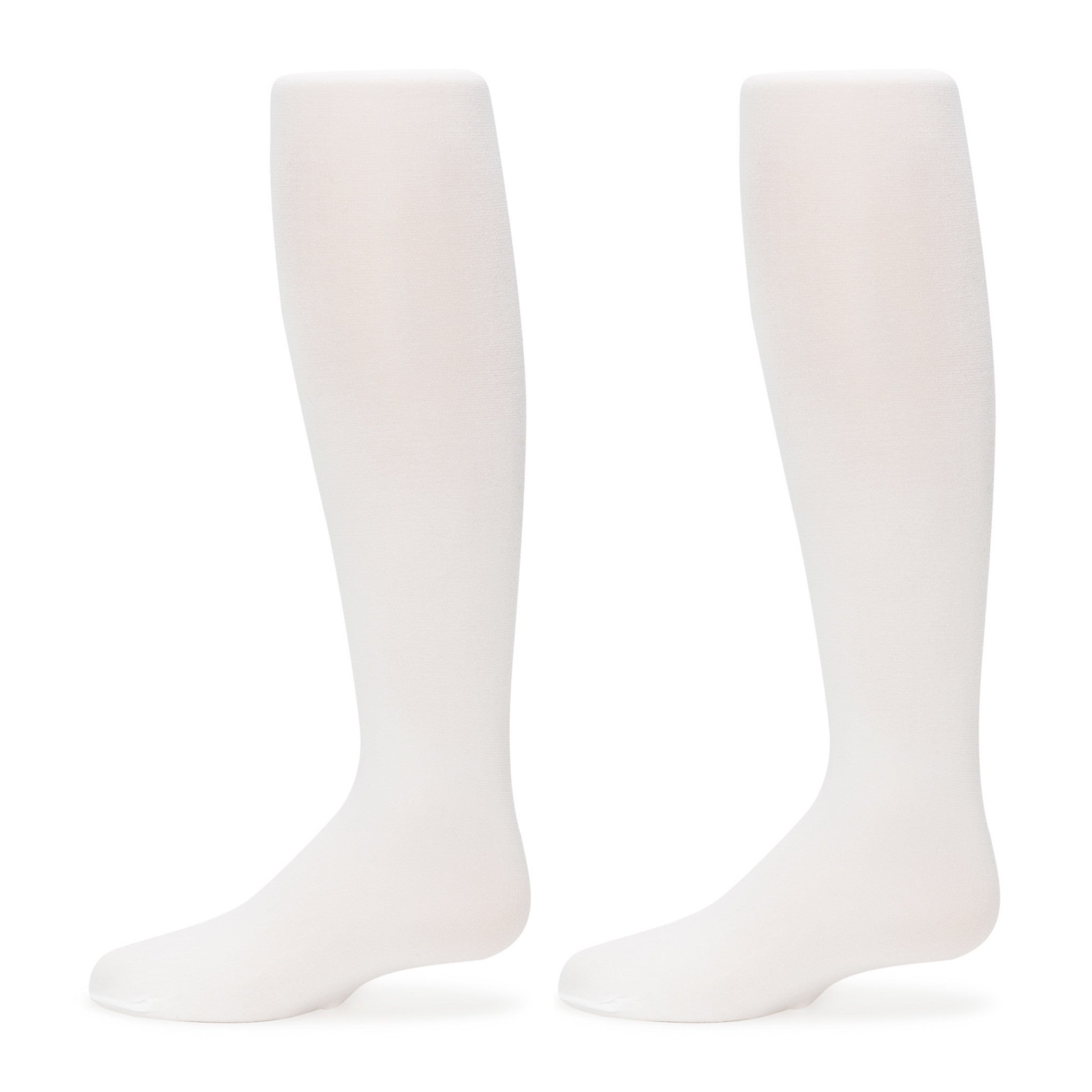 3-Pack Nylon Spandex Microfiber Tights (White)