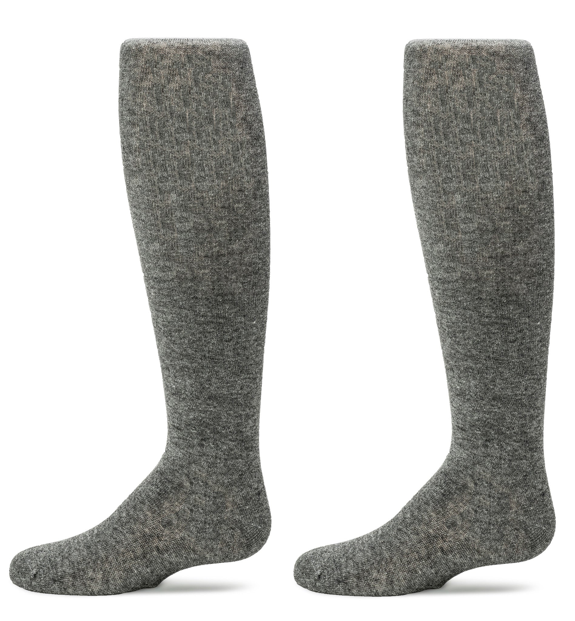 4-Pack Flat Knit with Comfortoe Technology Tights (Heather Grey)