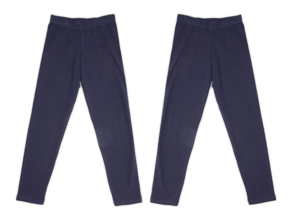 2-Pack Cotton Leggings (Navy)