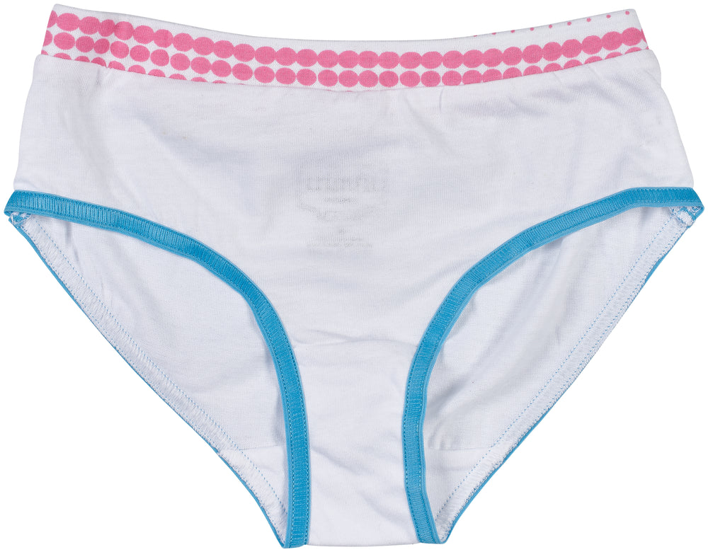 Trimfit Girls 100% Cotton Colorful Briefs Panties (Pack of 10), Assorted 5