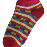 6-Pack Fashion Prints Girls Socks