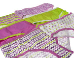 6-Pack Girls Zebra, Zig Zag, Polka Dots Hipsters