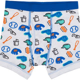 5-Pack Baseball 100% Cotton Tagless Boxer Briefs