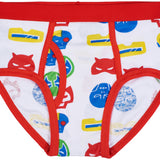 7-Pack Superhero 100% Cotton Tagless Briefs