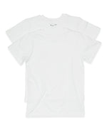 2-Pack 100% Combed Cotton T-Shirts (White)