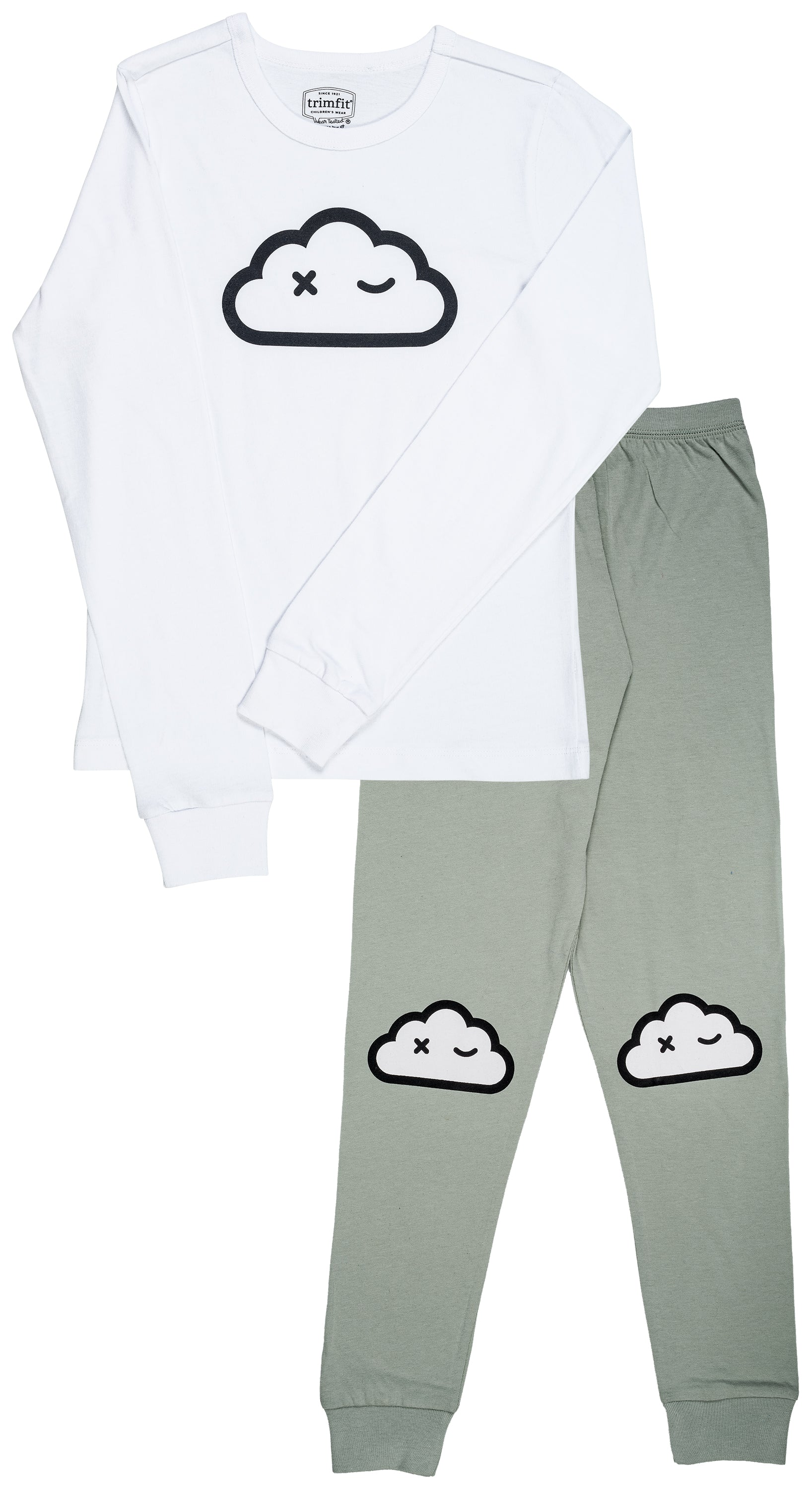 Cloud Wink Organic Cotton Long Sleeve Pajama Set