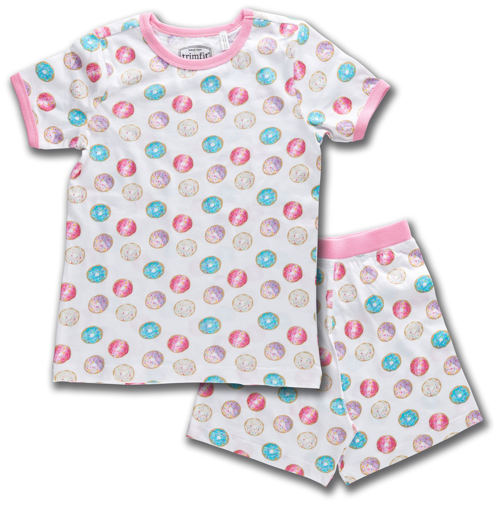 Donuts Organic Cotton Short Sleeve Pajama Set