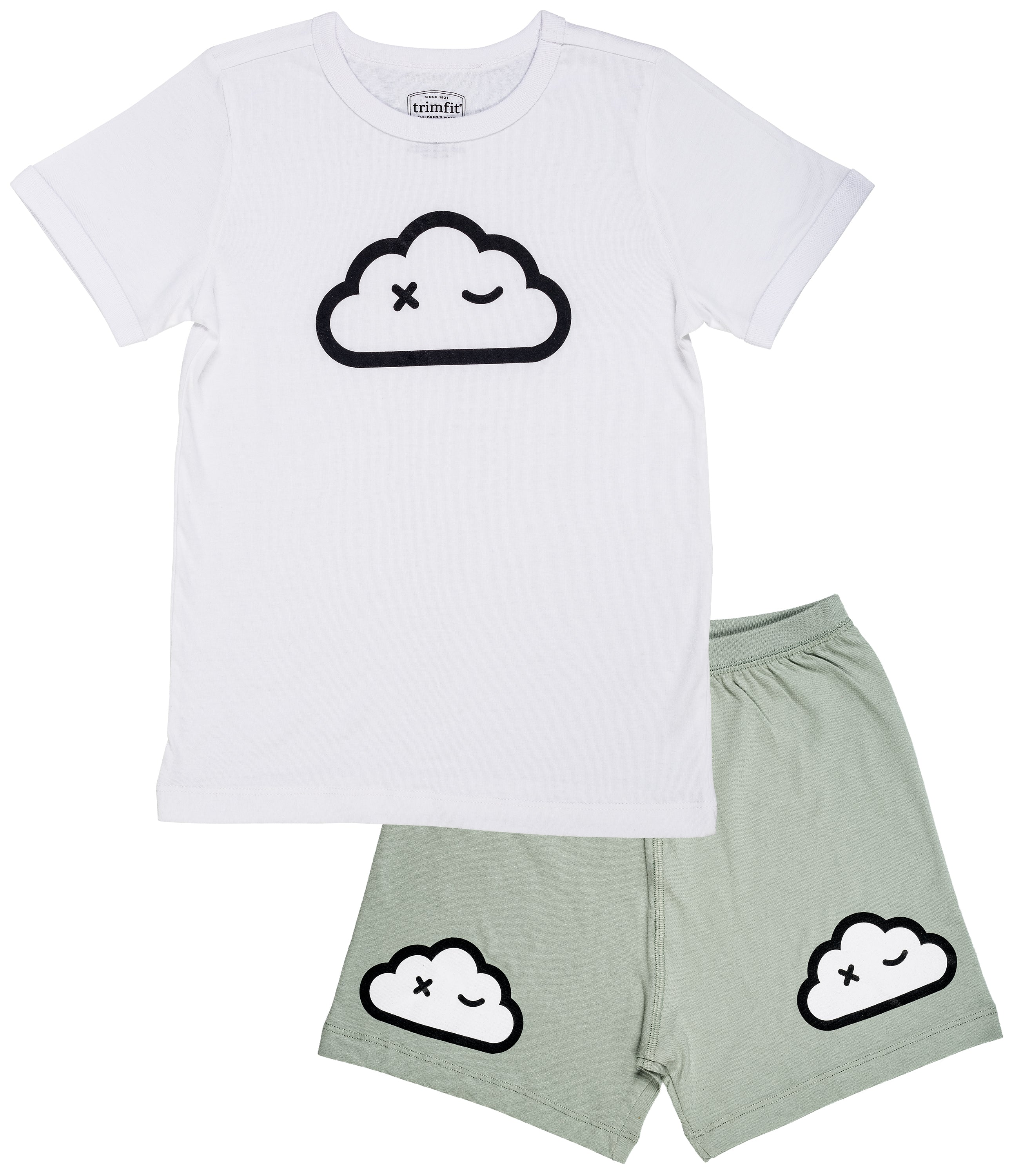 Cloud Wink Organic Cotton Short Sleeve Pajama Set