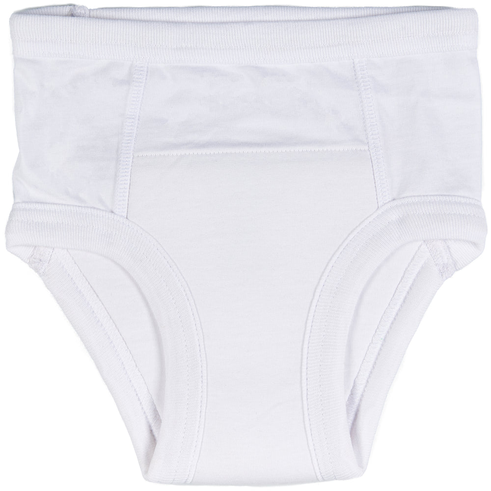 Trimfit Little Boys Cotton Training Pants (Pack Of 4), White