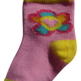 6-Pack Flowers Hearts Butterflies Printed Socks