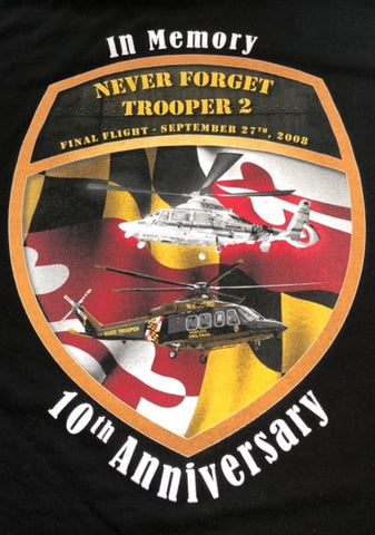 Trooper 2 Memorial SHORT SLEEVE T-Shirt