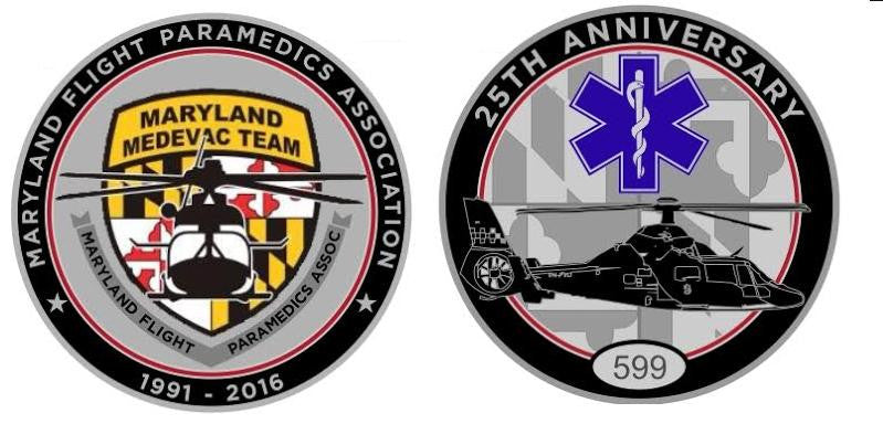 Limited Edition Challenge Coin - 25th Anniversary