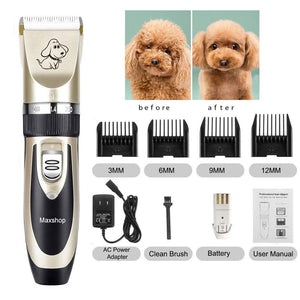 💥50% OFF-Last Day Promotion-Low Noise Pet Hair Clipper