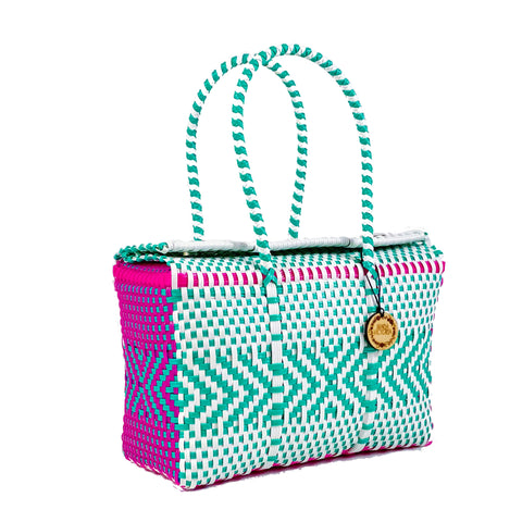Handmade Mexican Bag - Siqueiros - Electric