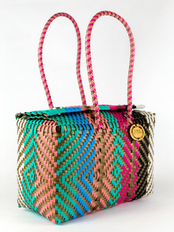 Handmade Mexican Bag - Siqueiros - Golden Candy