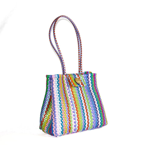 Handmade Mexican Bag - Tamayo Closed - Violeta