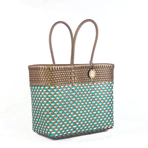 Handmade Mexican Small Tote - Tamayo Small - Tulip