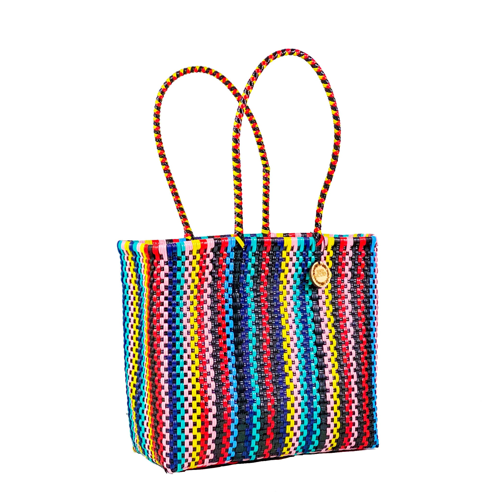 Handmade Mexican Medium Tote - Tamayo Tall - Chewy