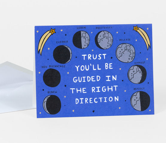 Trust You'll Be Guided Greeting Card