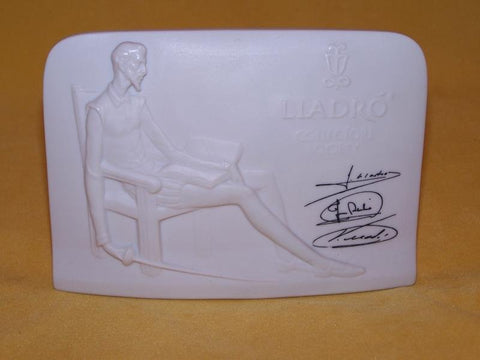 Collectors Society plaque - LLadró