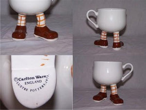 Long Leg Brown Shoes Cup - Carlton Walking Ware
